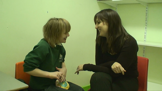 <p>Most individuals with Cri du Chat syndrome enjoy interaction with others.  Click to see some of the children who took part in a research study having fun with others.</p>